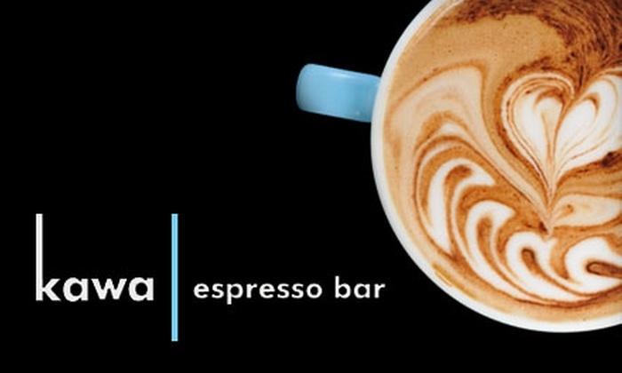 Kawa Espresso Bar - Beltline: $5 for $10 Worth of Coffee, Espresso, Café Fare, and More at Kawa Espresso Bar