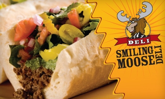 Smiling Moose Deli - Multiple Locations: $10 for $20 Worth of Food and Drink at Smiling Moose Deli