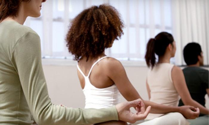 Harmony Yoga Spokane - Cliff Cannon: $30 for Five Yoga Classes at Harmony Yoga ($65 Value)