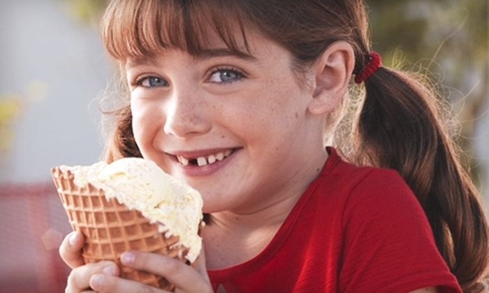 Bruster's Real Ice Cream - Multiple Locations: $5 for $10 Worth of Ice Cream and More at Bruster's Real Ice Cream. Choose from Six Locations.