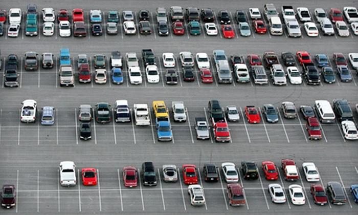 Parking Express - Ward 5: 3, 7, 14, or 30 Consecutive Days of Airport Parking at Parking Express (Up to 55% Off)