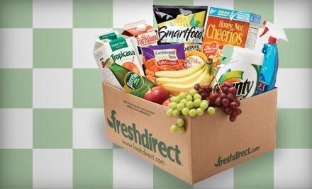 $100 Groupon to FreshDirect - FreshDirect in