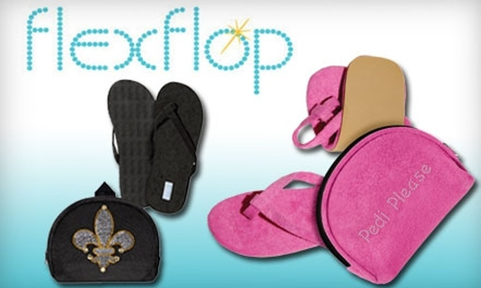 Flexflop Portable Sandals: $10 for $25 Worth of Flexflop Foldable Sandals