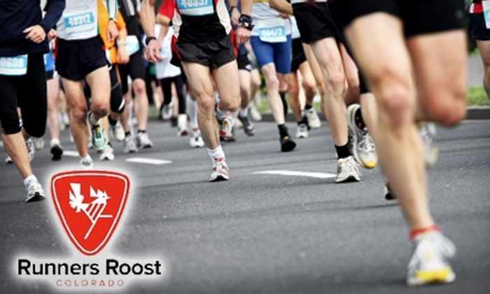 Runners Roost - Denver - Multiple Locations: $25 for $50 Worth of Activewear, Shoes, Gear, and More at Runners Roost