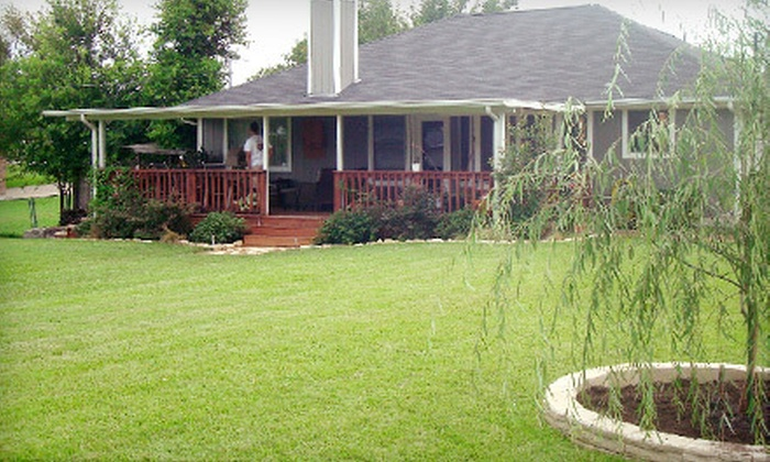 Serene Scenes Landscaping - Austin: $89 for Lawn Aeration with Fertilizer and Weed-Control Application at Serene Scenes Landscaping ($205 Value)