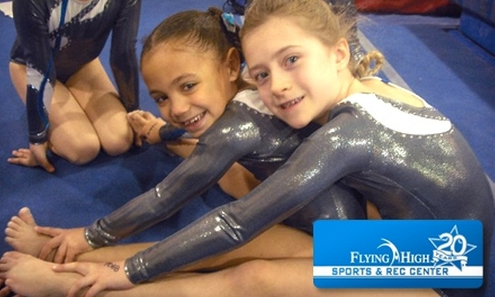 Flying High Sports & Rec Center - Chicago: $20 for an Eight-Visit Punch Card to Kids' Open Gym at Flying High Sports & Rec Center in Countryside (Up to $64 Value)