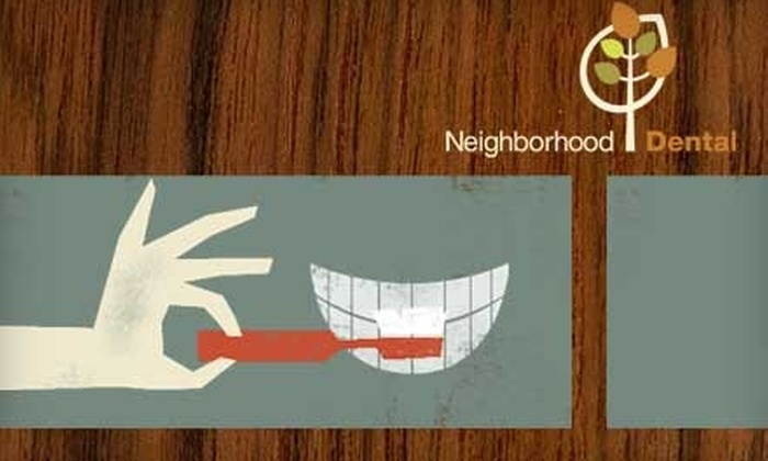 Neighborhood Dental Care - Multiple Locations: $50 for a Dental Exam, X-Rays, Teeth Cleaning, and a Take-Home Teeth-Whitening Kit at Neighborhood Dental Care (Up to $450 Value)