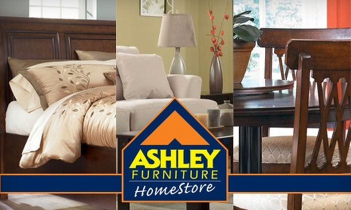 Ashley Furniture HomeStore - Multiple Locations: $25 for $100 Worth of Home Furnishings at Ashley Furniture HomeStore. Choose from Two Locations.