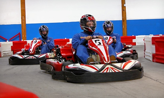 Grand Prix Raceway - Pacific: $20 for Two 20-Lap Go-Kart Races at Grand Prix Raceway in Lakewood (Up to $40 Value)