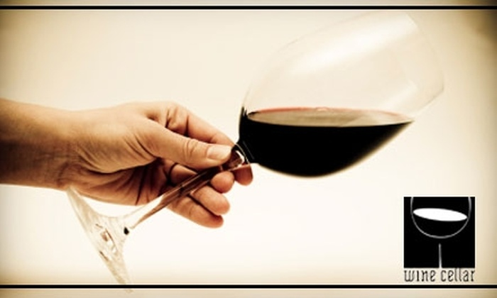 The Wine Cellar - Vestavia Hills: $5 for Two Tickets to a Two-Hour Wine Tasting at The Wine Cellar ($10 Value)