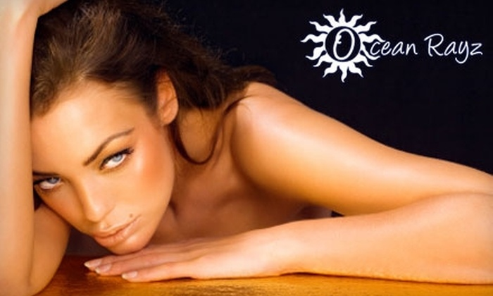 Ocean Rayz Tanning - Multiple Locations: $20 for One Spray Tan at Ocean Rayz Tanning (Up to a $50 Value)