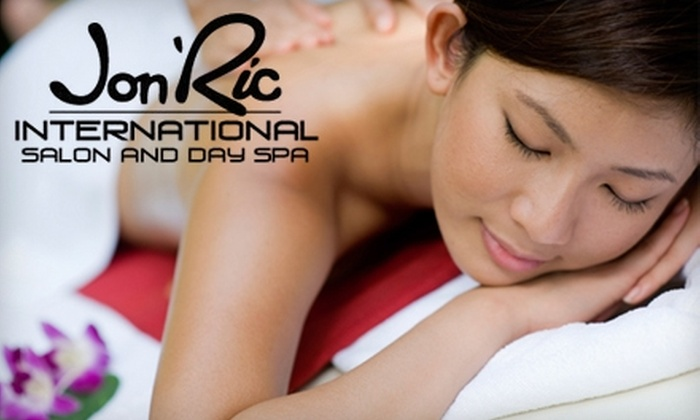 Jon' Ric Salon and Day Spa - Altamonte Springs: Rejuvenating Massage Services at Jon' Ric Salon and Day Spa in Altamonte Springs. Choose from Three Options.