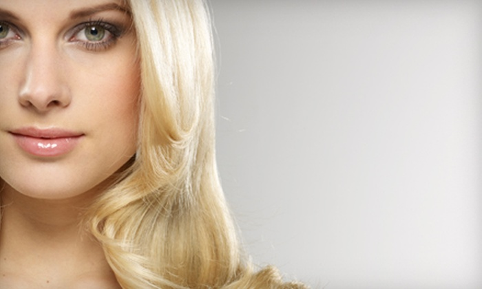 Montage Studio Salon & Spa - Southeast Boise: $50 for $100 Worth of Hair Services and Facial Waxing at Montage Studio Salon & Spa
