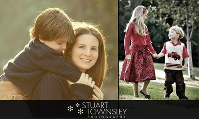 """Stuart Townsley Photography - Multiple Locations: $45 for a Portrait Session, Two 8"""" x 10"""" Prints, and a Slide-Show DVD at Stuart Townsley Photography ($390 Value)"""