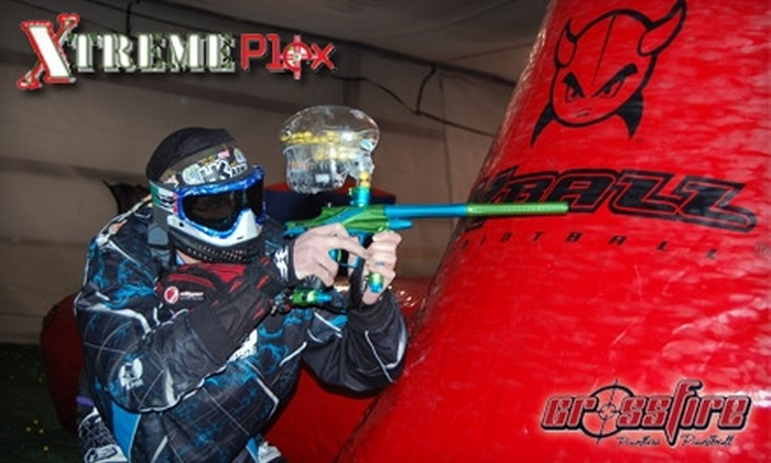 Xtreme Plex - Steger: $20 for Three Hours of Paintball at Xtreme Plex ($40 Value)