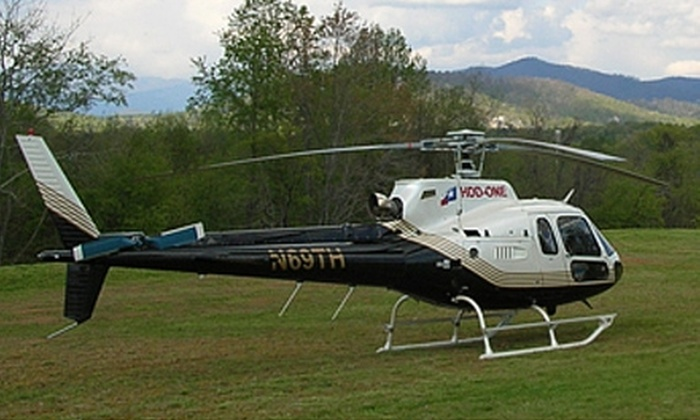 Shadowhawk Aviation - Eastside: $119 for a 20-Minute Helicopter Tour of Downtown Greenville from Shadowhawk Aviation ($260 Value)