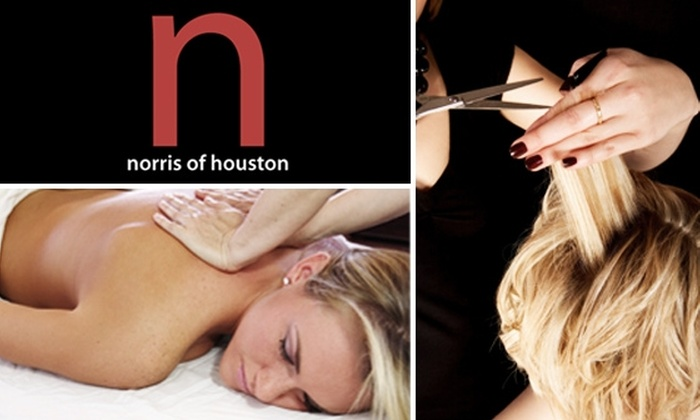 Norris of Houston Salon - Great Uptown: $40 for $100 Worth of Services at Norris of Houston