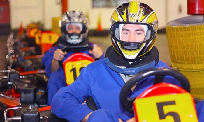 Fast Lap - Inland Empire: $25 for Four Go-Kart Races, Plus a One-Year Membership, at Fast Lap in Mira Loma ($63 Value)