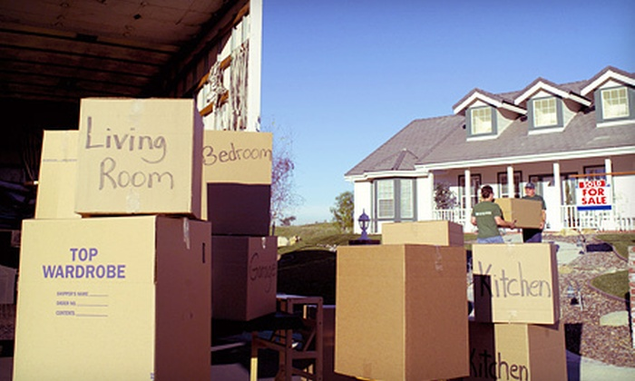 5 Star Movers - New York City: Four or Six Hours of Moving Services with Two Movers from 5 Star Movers (Up to 53% Off)