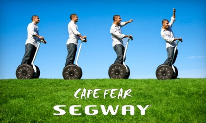 Glide Dynamics & Cape Fear Segway Tours - Central Wilmington: $20 for a 75-Minute Segway Waterfront Tour from Glide Dynamics & Cape Fear Segway Tours in Wilmington ($40 Value)