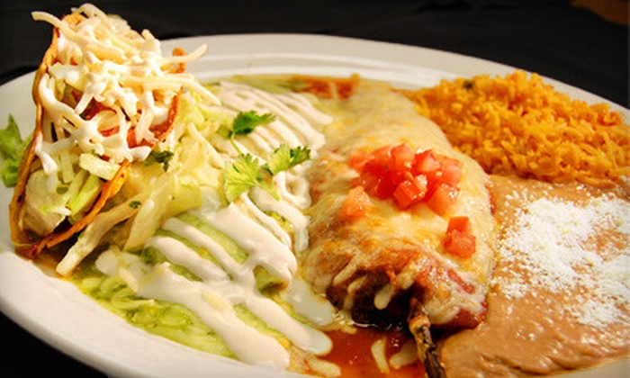 Los Arcos - West St. Paul: $15 for $30 Worth of Authentic Mexican Fare at Los Arcos in West St. Paul