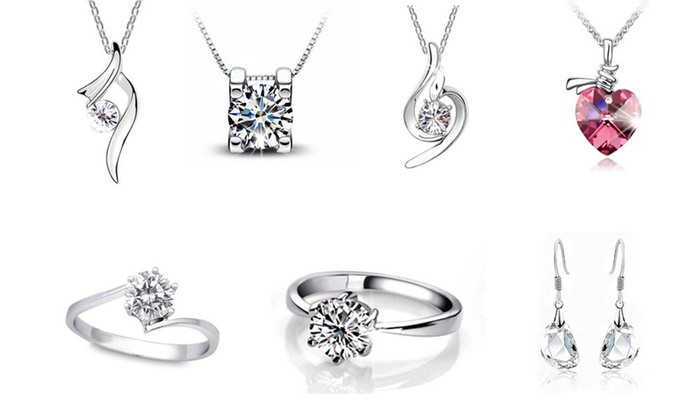 7657d1562bfbbf Gioielli con SWAROVSKI ELEMENTS | Groupon Goods
