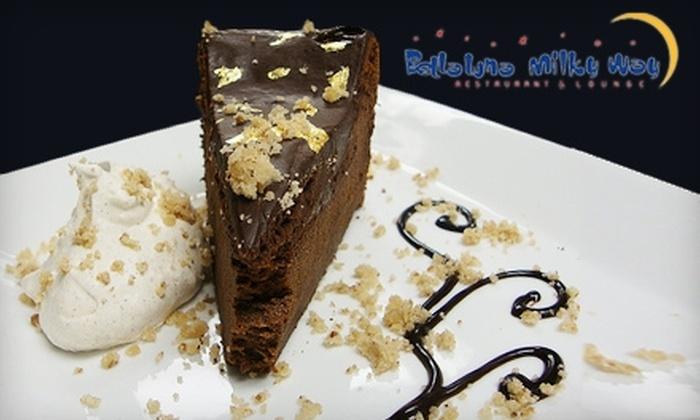 Bella Luna Restaurant & Milky Way Lounge - Roxbury: $15 for $30 Worth of Pizza and More at Bella Luna Restaurant & The Milky Way Lounge in Jamaica Plain