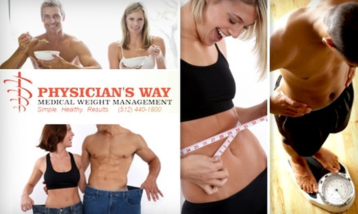 Physician's Way Medical Weight Loss and Wellness Clinic - South Lamar: $95 for an Initial Weight-Loss Assessment and Plan from Physician's Way Medical Weight Management ($185 Value)