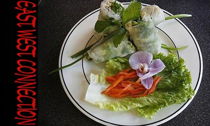 East-West Connection - East Bench: $20 for $40 Worth of Authentic Vietnamese Cuisine at East-West Connection