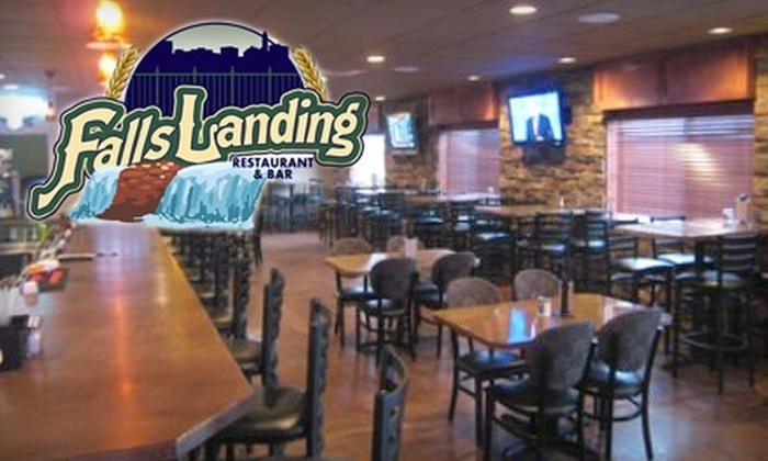Falls Landing - Downtown: $15 for $30 Worth of Sandwiches, Salads, Drinks, and More at Falls Landing