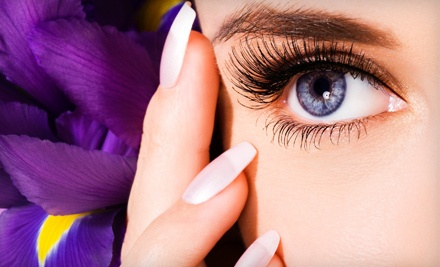 Set of Flirty Look Eyelash Extensions (a $98 value) - Suki Day Spa in San Diego