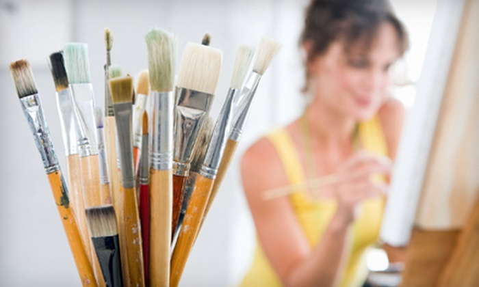 Palmetto Paint & Pour - Northwest Columbia: $149 for a BYOB Painting Party for 10 People at Palmetto Paint & Pour ($300 Value)