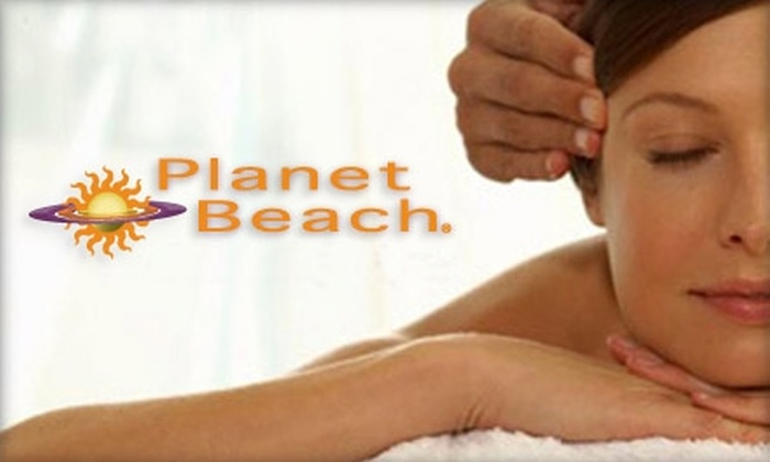 Planet Beach Contempo Spa - Westmere: $25 for One Week of Unlimited Spa Services at Planet Beach Contempo Spa (Up to $455 Value)