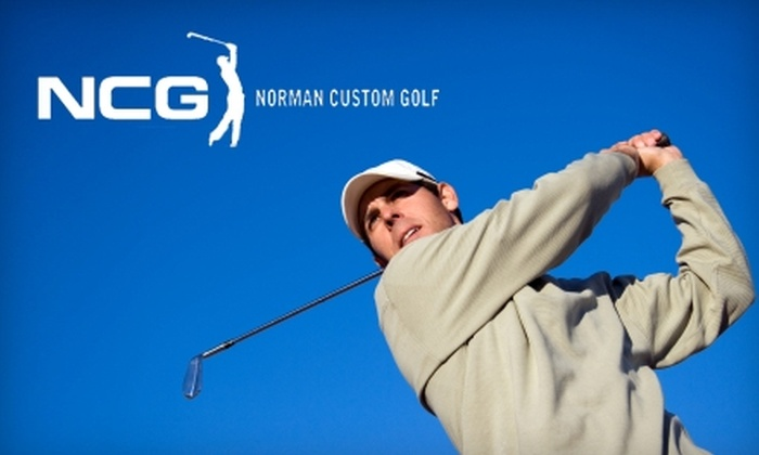Norman Custom Golf - Norman: $20 for $40 worth of Merchandise or $50 for a Custom Club Fitting Session and $20 Gift Card (a $120 Value) at Norman Custom Golf