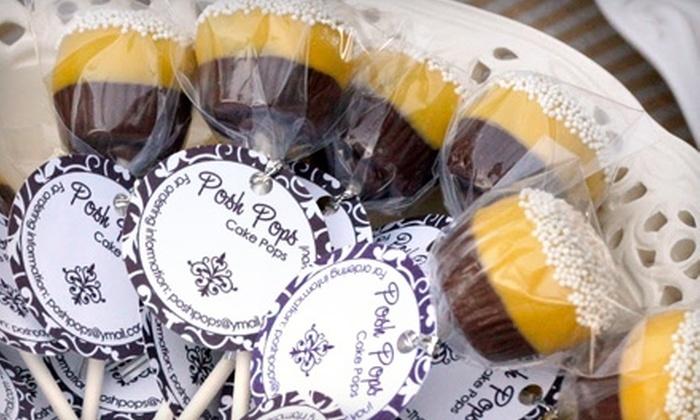 Posh Pops - Old Town Temecula: $10 for One Dozen Custom Cupcake Lollipops at Posh Pops in Temecula ($22 Value)