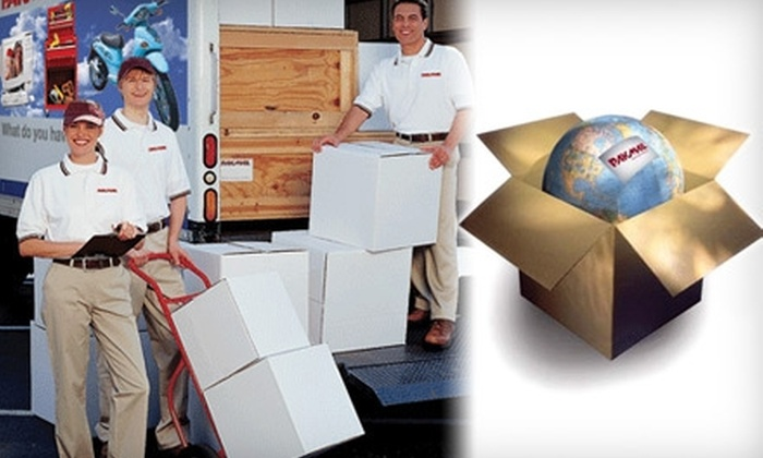 PakMail Charleston - Multiple Locations: $10 for $20 Worth of Shipping, Packaging, and Office Services at Pak Mail