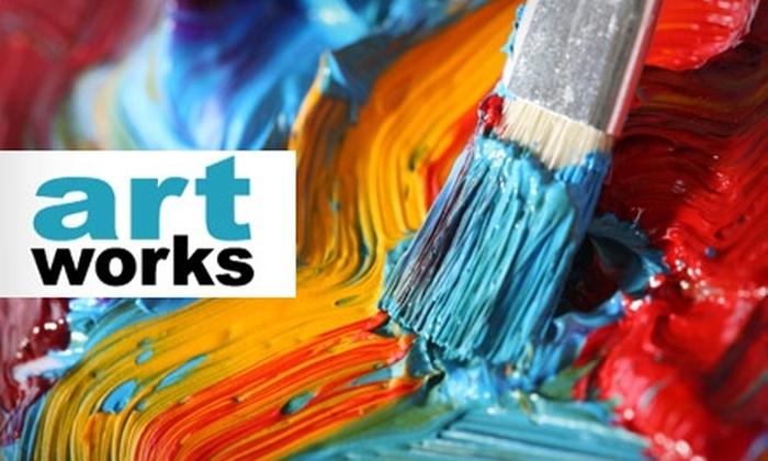 Artworks (MoCo) - Bethesda: $15 for a Two-Hour Adult Workshop at Artworks Fine Art Studio