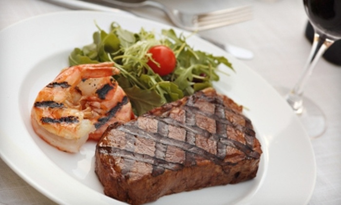 Jamil's Steakhouse - Central Oklahoma City: $15 for $30 Worth of Steaks, Seafood, and Drinks at Jamil's Steakhouse