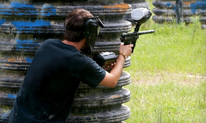 TxR Paintball - Northwest Harris: $20 for One Full Day of Paintball, Including Marker, Mask, Air, and 200 Paintballs at TxR Paintball in Cypress ($47 Value)