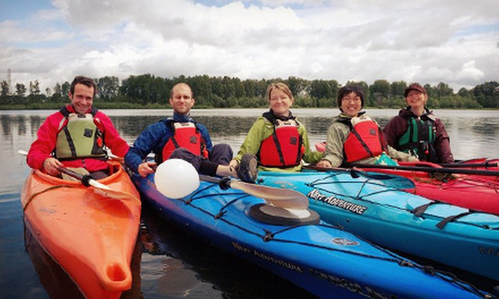 Next Adventure - Sellwood Riverfront Park: $20 for an Intro Kayak Trip to Ross Island, Valid Saturday–Sunday or Tuesday–Thursday from Next Adventure ($40 Value)