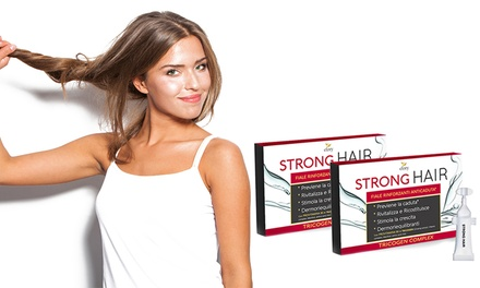 2 o 3 confezioni da 10 fiale di 5 ml per capelli di trattamento ricostituente ed anti caduta, con spedizione gratuita