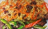 Up to 53% Off at Afghan Kebob Grill