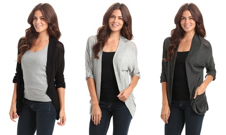 Women's Open Cardigan