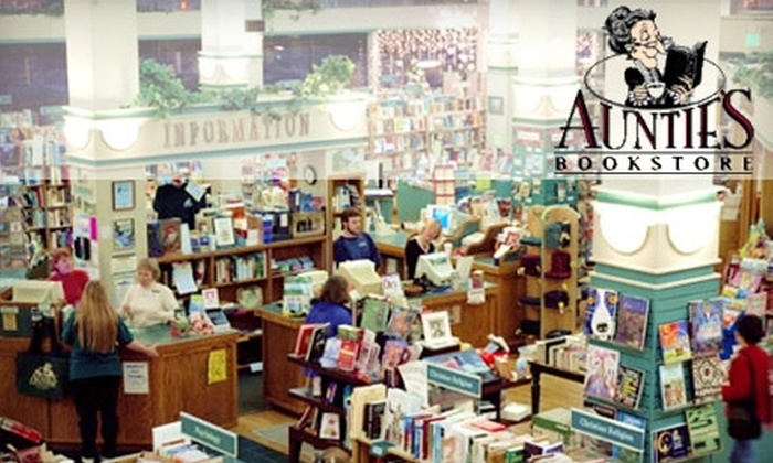Auntie's Bookstore - Riverside: $10 for $20 Worth of Books and More at Auntie's Bookstore