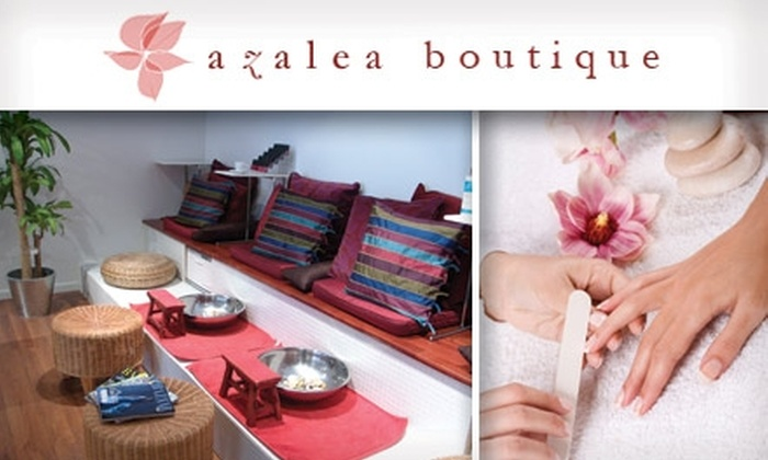 Azalea Boutique - Hayes Valley: $28 for an All-Natural Coconut Mani-Pedi at Azalea Boutique