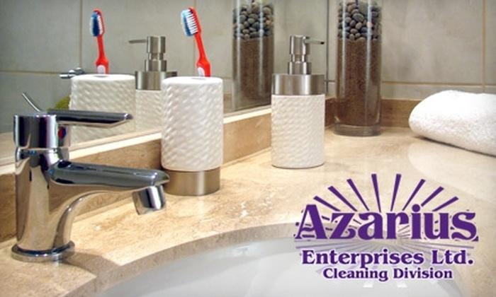 Azarius Enterprises - Saskatoon: $55 for a Three-Hour Home Cleaning from Azarius Enterprises ($120 Value)