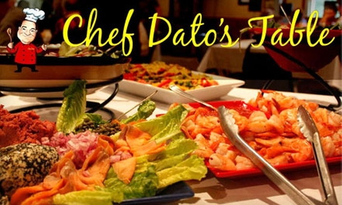 Chef Dato's Table - Derry: $20 for $40 Worth of Dinner Fare and Drinks at Chef Dato's Table (or $10 for $20 Worth of Lunch Fare) in Latrobe