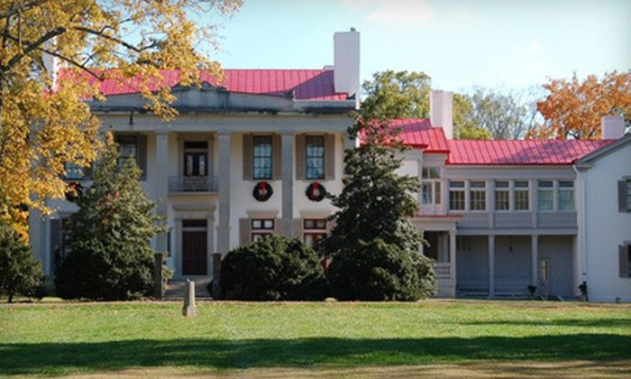 Belle Meade Plantation - Belle Meade: Plantation Tour and Wine Tasting for Two, Four, or Six at Belle Meade Plantation (Up to 54% Off)