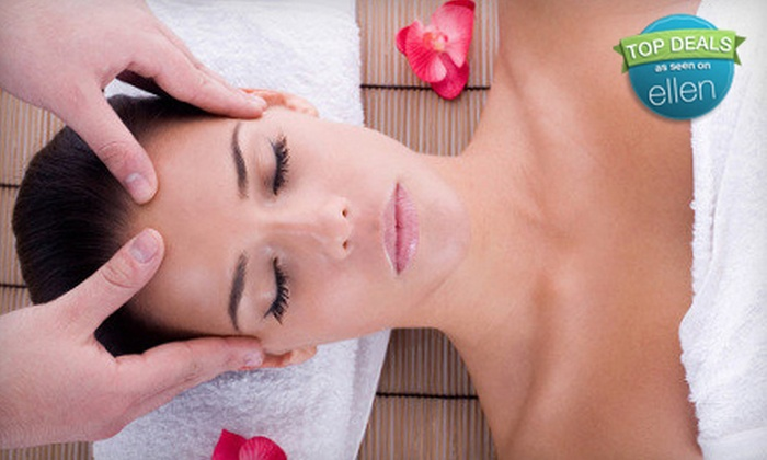 Serendipity Day Spa & Wellness Center - Riverbank: One-Hour Aromatherapy Massage or Candy-Cane Body Wrap at Serendipity Day Spa & Wellness Center (Up to 51% Off)
