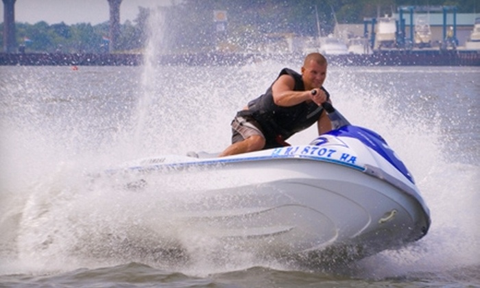 East Coast Jet Ski - Central Jersey: Jet-Ski Rental at East Coast Jet Ski in Cape May. Two Options Available.